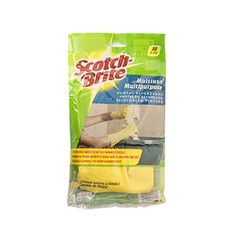 GUANTE MEDIANO SCOTCH BRITE MULTIUSO 1EA