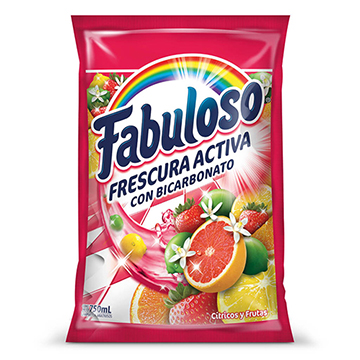 DESINFECTANTE FABULOSO CITRICO 750ML