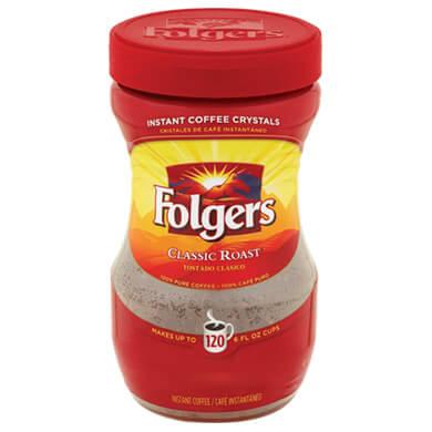 CAFE FOLGERS INSTANTANEO 227 GR