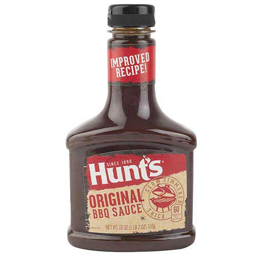 Salsa Hunts barbacoa tradicional 510 g