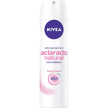 DESODORA NIVEA SPRAY DAM ACLAR NAT 150ML