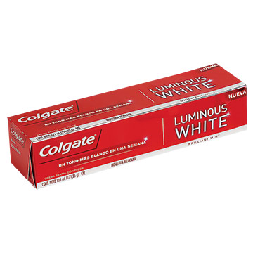 CREMA DENT COLGATE LUMINOUS WHITE 125ML