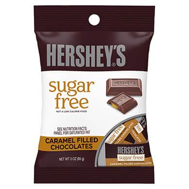 CHOCOLATE HERSHEYS SUGAR FREE DRK  85GR