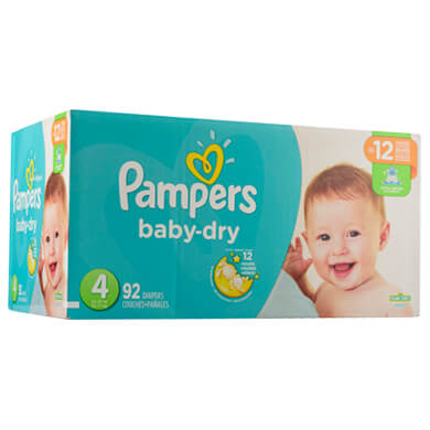 PANAL PAMPERS BABY DRY SUPER T4  92U