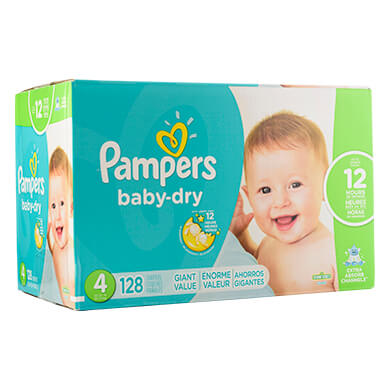 PANALES PAMPERS BABY DRY S4128