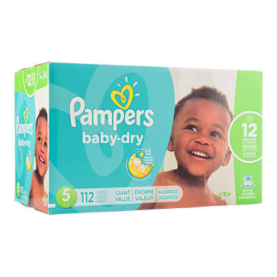 PANALES PAMPERS BABY DRY S5112