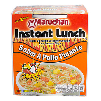 SOPA INST MARUCHAN POLL PICANT 64 GR