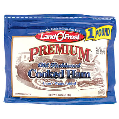 JAMON COCIDO LAND O FROST PREMIUM 454GR