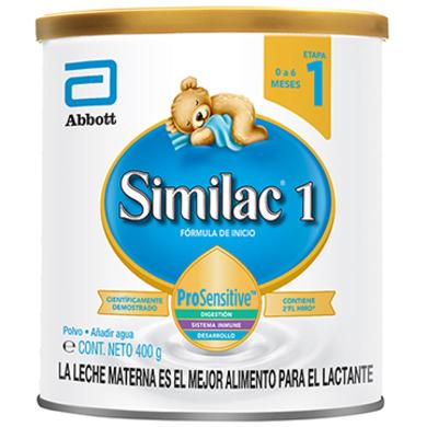 FORMULA INFANTIL SIMILAC 1 HMO 400GR
