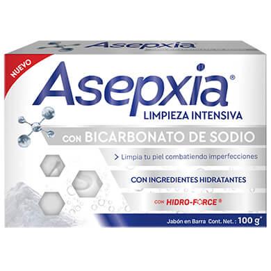 JABON ASEPXIA BICARBONATO SODIO 100GR