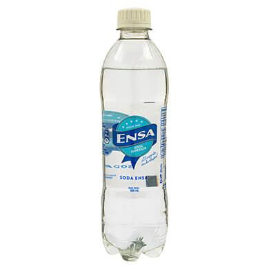 Resfresco gaseoso Ensa soda 500 ml