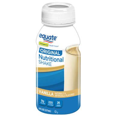 Complemento Equate regular vainilla 237 ml