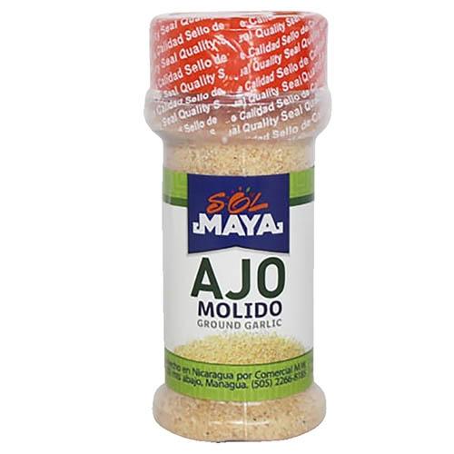 Ajo molido Sol Maya frasco 44 g