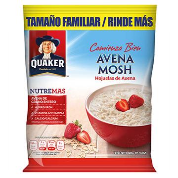 AVENA QUAKER MOSH NUTREMAS 600GR