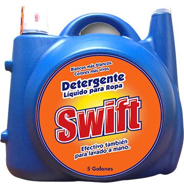 DETERGENTE LIQUIDO SWIFT 18.92 LITROS
