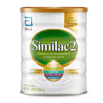FORM SIMILAC 2 PRO SENSITIVE POTE 850GR