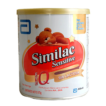 FORMULA INFANTIL SIMILAC SENSITIVE 375GR