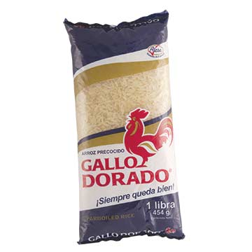 ARROZ GALLO DORADO PRECOCIDO 454 GR