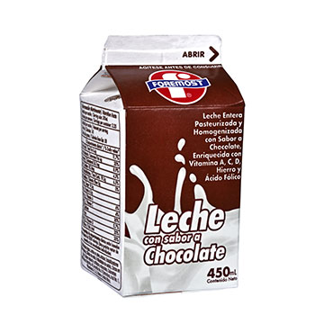 LECHE FOREMOST PASTEURIZ CHOCOLATE 450ML