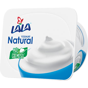 YOGURT LALA BATIDO NATURAL 125 GR