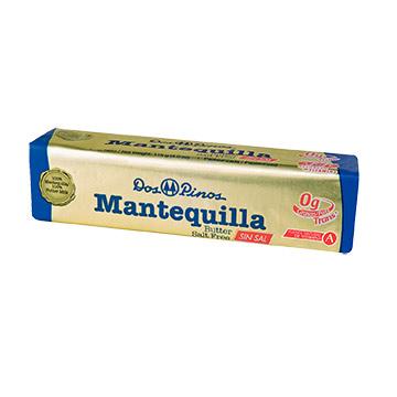 MANTEQUILLA DOS PINOS BARR SIN SAL 115GR