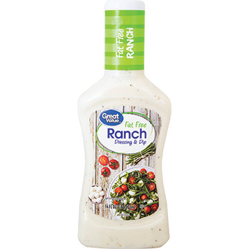 ADEREZO GREAT VALUE RANCH LIGHT 473 ML