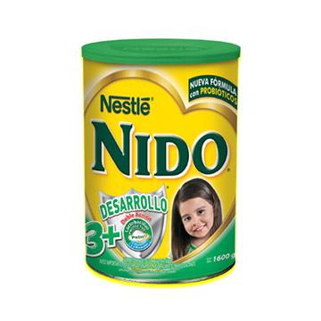 ALIMENTO NIDO CRECIM POLVO 3MAS 1600GR