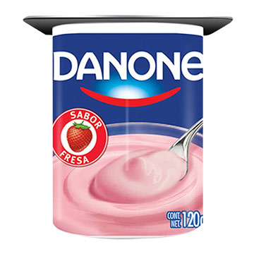 YOGURT DANONE SEMI SOLIDO FRESA 120GR