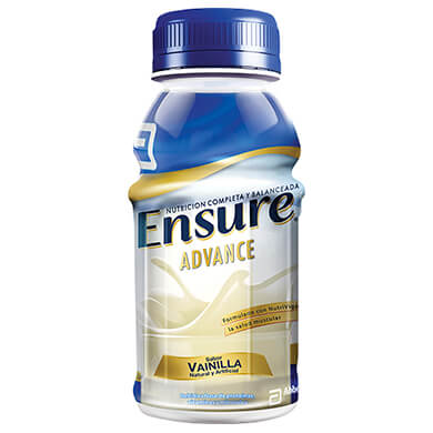 COMPLEMENTO ENSURE ADVANCE VAINILL 237ML