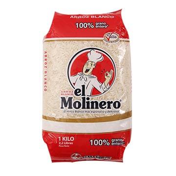 ARROZ BLANCO EL MOLINERO 1000GR