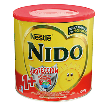LECHE NIDO POLVO 1 MAS PROT BOTE 2200GR