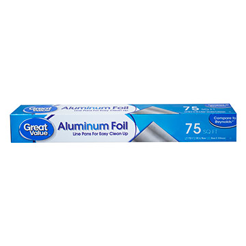 PAPEL GREAT VALUE ALUMINIO 75FT 1EA