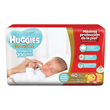 PANAL HUGGIES RECIEN NACIDO MEGA RN 40U