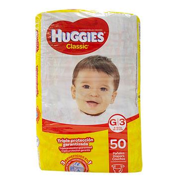 PANAL HUGGIES CLASSIC JUMBO G 50U