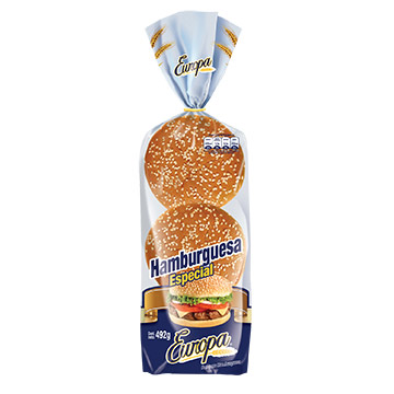PAN EUROPA HAMBURGUESA BIG 6UN 490GR