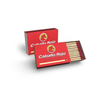 FOSFOROS DE SEGURIDAD CABALLO ROJO 5 UND