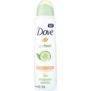 DESODOR DOVE SPRAY GO FRESH PEP TE 150ML