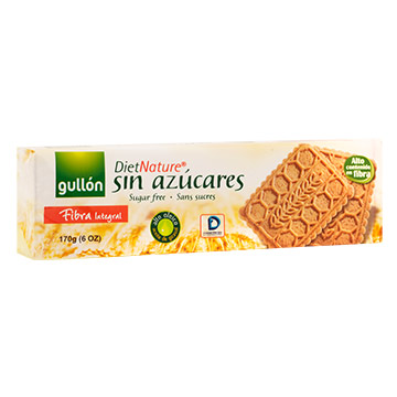 GALLETA GULLON FIBRA INTEGRAL 170GR