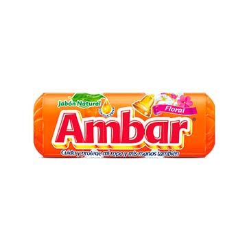 JABON EN BOLA AMBAR FLORAL 3PK900GR