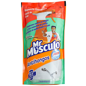MR MUSCULO ANTIHONGOS BOLSA 500ML