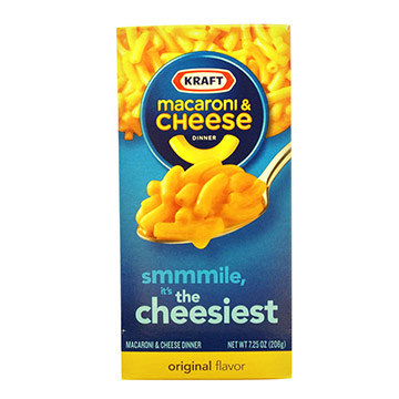 MACARONI Y QUESO KRAFT DINNER 206 GR