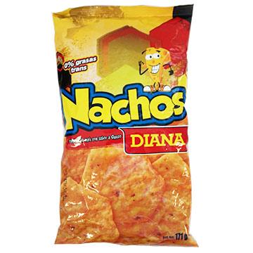 BOQUITAS DIANA NACHO SABOR QUESO 171GR