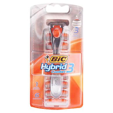 Rasuradora Bic comfort hybrid 6 unidades