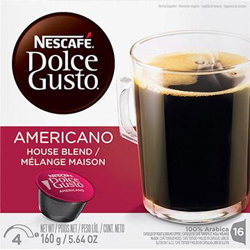 CAFE NESCAFE DOLCE GUSTO AMERICANO 160GR