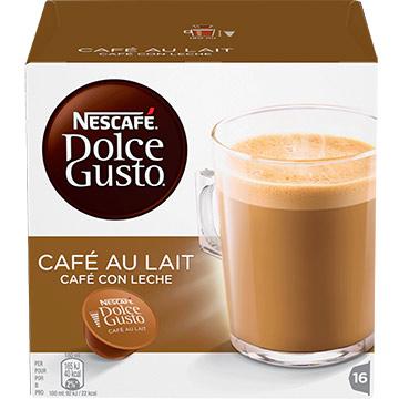 CAPSULA NESCAFE DLC GST CAFE LECHE 160GR