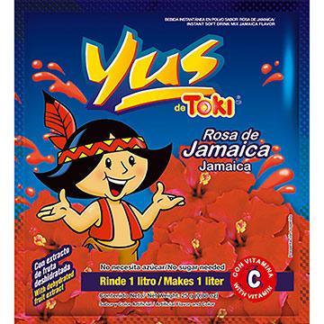 BEBIDA EN POLVO YUS JAMAICA 28GR