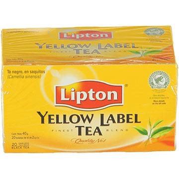 TE LIPTON TE YELLOW LABEL 40 GR