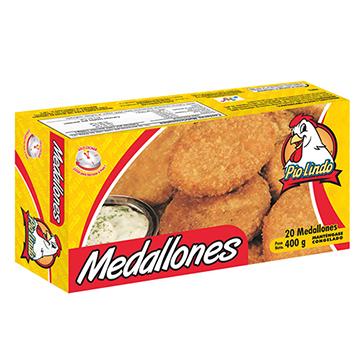 MEDALLONES NESER DE POLLO 20U 400GR
