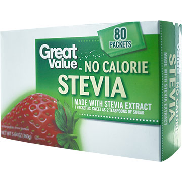 ENDULZANTE GREAT VAL STEVIA 80 SOB 160GR