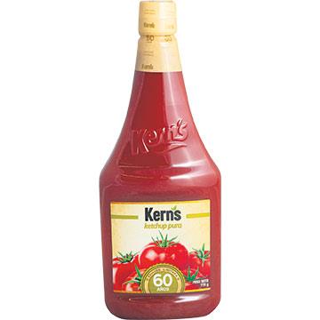 KETCHUP KERNS BOT PLASTICO 776 GR